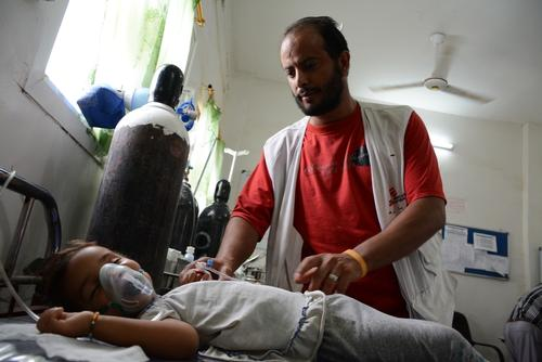MSF supported hospital in Abs