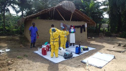 MSF Ebola Rapid Response