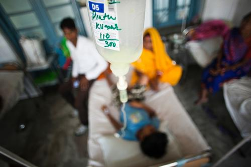 Kala Azar in Bihar, India. Sadar Hospital, Vaishali District.
