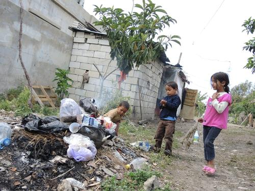 Lebanon -The plight of Palestinian refugees who fled Syria