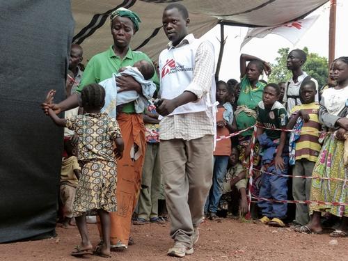 Mpoko camp, Bangui Airport