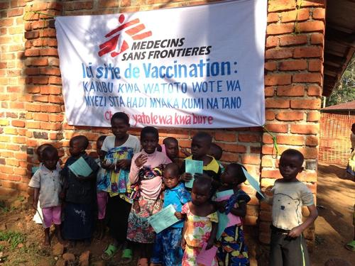 Vaccination measles Kalonge (DRC)