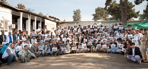MSF staff in Kunduz