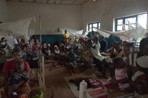 DRC: MSF respond to a massive malaria outreak in Pawa and Boma-Mangbetu