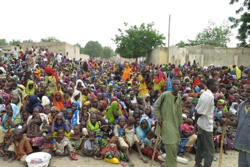 MSF intervention in Banki, Borno State, Nigeria , July 2016