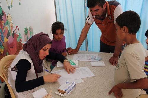 Iraq - Medical care for those displaced by fighting in areas between Dohuk and Mosul