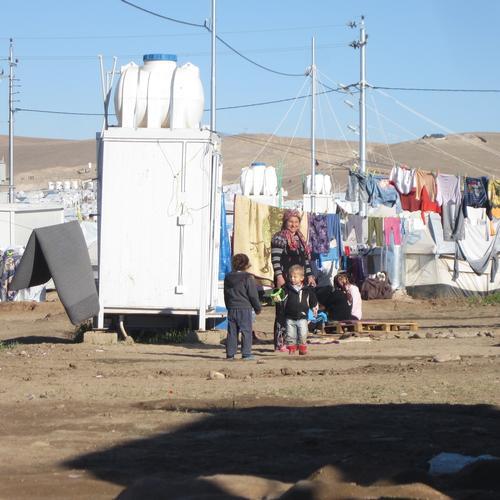 Kawargosk camp + camp in Erbil area, Iraq