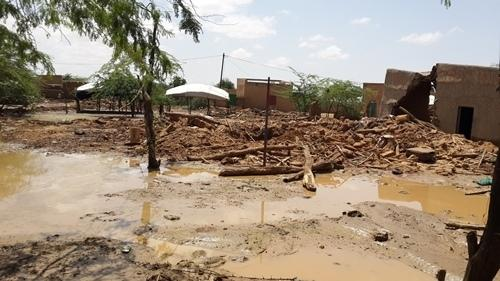 MSF intervention in Alaback, Niger