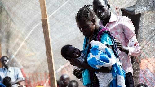 IDP camp, Juba, South Sudan