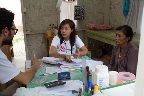 HIV care in Myanmar