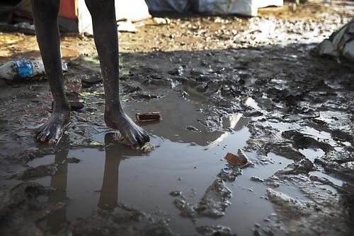 IDP CAMP JUBA 3 SOUTH SUDAN