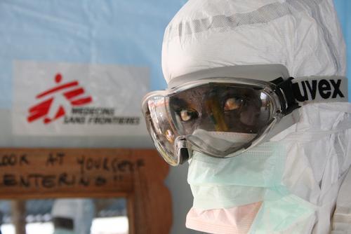 ELWA3 Ebola management centre in Monrovia, Liberia