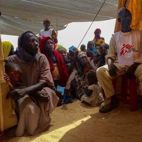 Niger. Thousands of newly displaced people in Diffa region