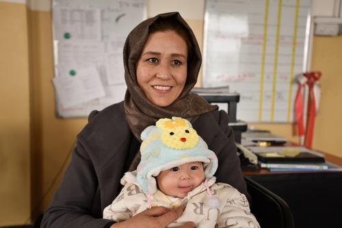 Aqila is Midwife Supervisor in Dasht-e-Barchi hospital, Kabul.