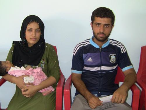MSF clinic for IDPs in Baharka Camp, Iraq Kurdistan