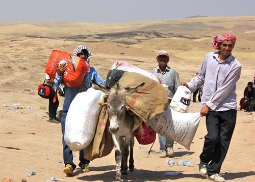 MSB105 Iraq - Medical care for Syrian crossing the Iraqi Kurdistan border