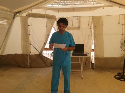 Al Salamah MSF Hospital, Syria