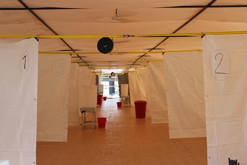 Ebola treatment centre Freetown