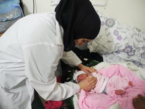 Mother & Child Care centre in Majdal Anjar, Bekaa, Lebanon