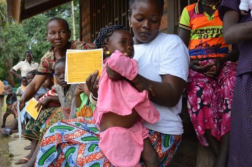 Bangassou - multi antigen vaccination campaign.
