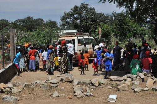Bouar area, central african republic, november 2013