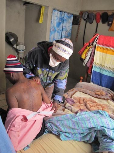 Mozambique - HIV and TB care