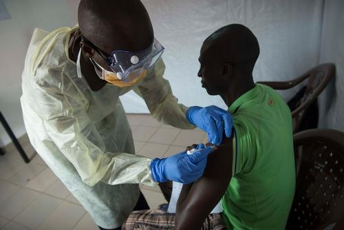 MSF Ebola Vaccine Clinical Trial