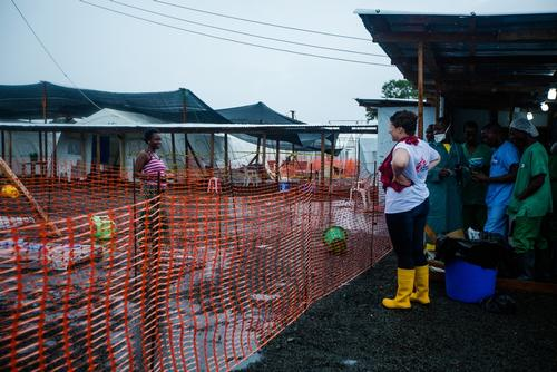 Ebola case management centre ELWA3 - Liberia
