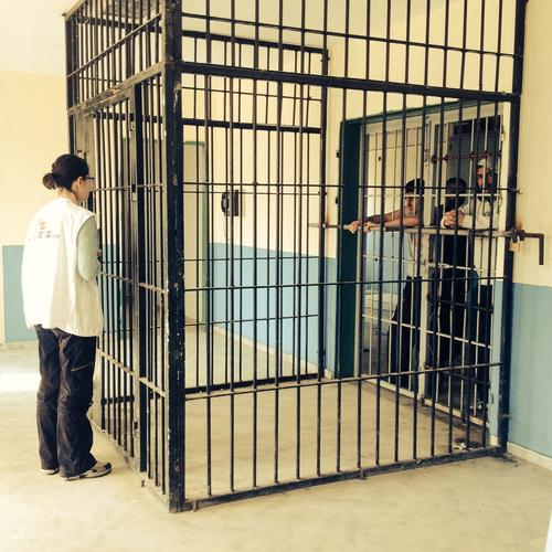 Komotini Detention Centre, Northern Greece