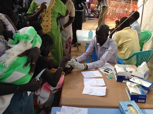 IDP Camp Tomping South Sudan