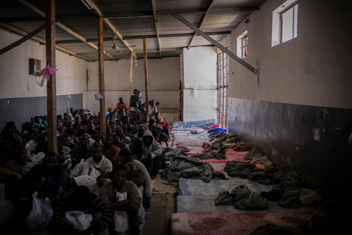 Libya: detention centres in Tripoli