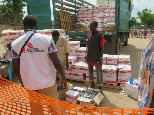 MSF intervention in Banki, Borno State, Nigeria , July 2016