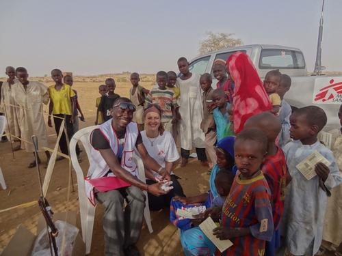 Chad - Measles vaccination campaign in Ouaddai and Wadi Fira regions