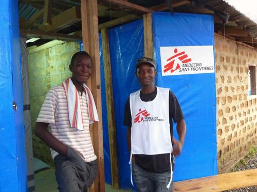 Kollie James in Foya is the 1000st Ebola survivor