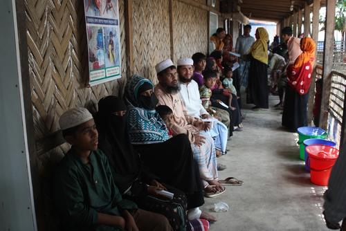 MSF Health and Maternal Clinic - Kutupalong Bangladesh
