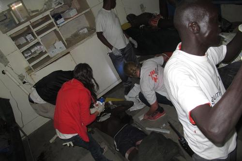 MSF provides emergency care to wounded in Leer