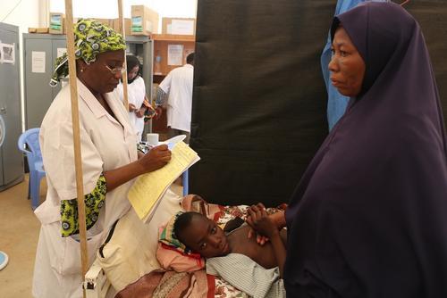 Meningitis epidemics in Lazaret centre in Niamey