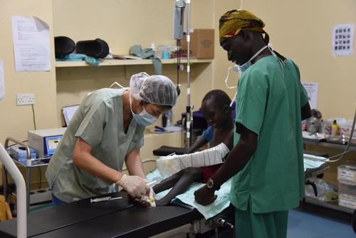 Aweil Hospital, South Sudan