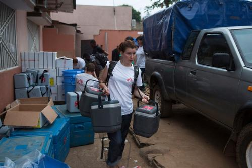 MSF Yellow Fever Vaccination in DRC