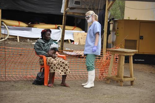 Ebola, Guéckédou, Guinea April 2014