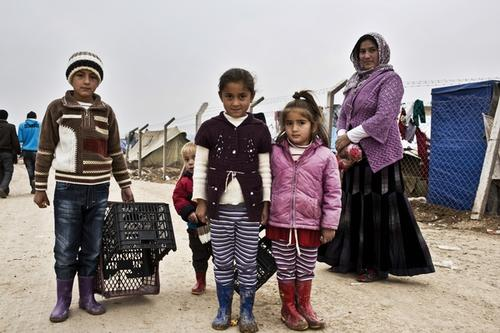 Iraq - Syrian refugees in Domeez camp
