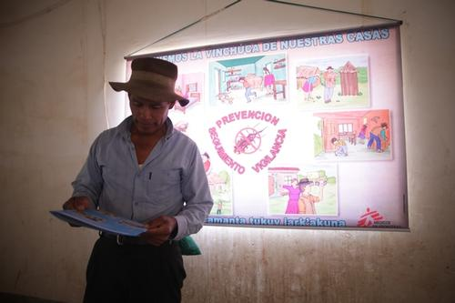 MSF Chagas project in Aiquile, Bolivia(MSF132229 )
