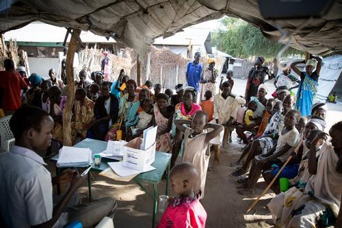 Arjan Hehenkamp visits South Sudan