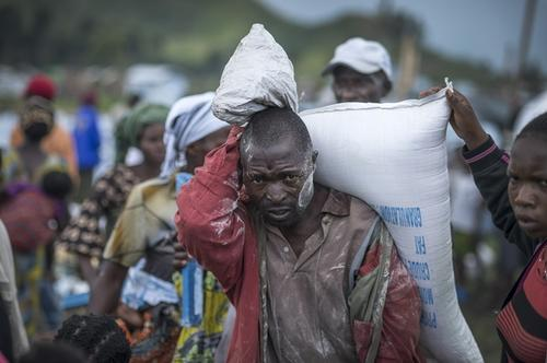 MSF activities in Goma, Mugunga I and III camp, Virunga Hospital.