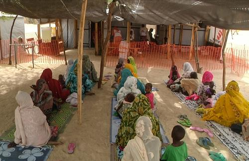 MSF health post in Yebi, Diffa, Niger
