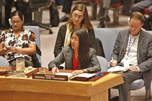 United Nations Security Council, September 2016