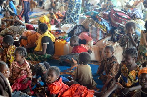 a thousand people in transit on their way to Cameroon victims of attacks