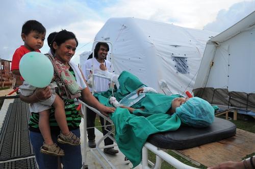 Guiuan inflatable OT