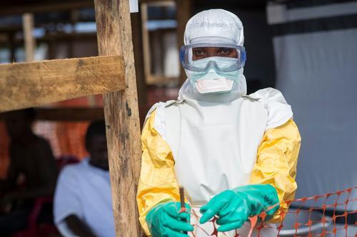Ebola Treatment Centre in Kailahun, Sierra Leone