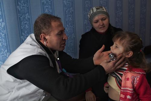 East Ukraine Conflict, Donetsk, FEB 2015